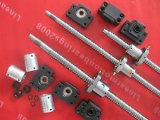 Lead Screws ballscrews RM1605-325/650mm RM2005-800mm + BK12 BF12 + couplings