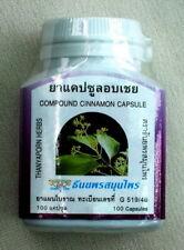 New Cinnamon Cinnamomum Sp. Capsule Herbal Supplement