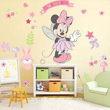 Minnie Mouse Dibujos Animados Adhesivo Pared Mural Adhesivos De Vinilo