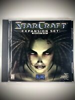 StarCraft: Brood War Expansion (Windows 95, 1998) Complete! Classic Game!