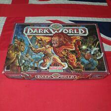 Waddingtons Dark World Fantasy Adventure Board Game 100% COMPLETE Hero Quest D&D