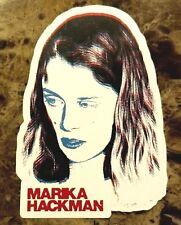 MARIKA HACKMAN I'm Not Your Man 2017 Ltd Ed RARE Sticker+FREE Indie Pop Stickers