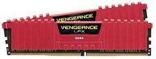 Corsair memoria DDR4 8GB 2x4gb PC 2400 Vengeance Lpx Redheat