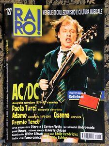 RARO! 127 Magazine about discography ps AC/DC Adamo Paola Turci Osanna