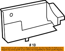 CHRYSLER OEM Radiator Core Support-Splash Guard 68109830AA