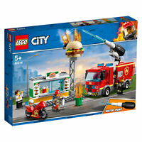 60214 LEGO CITY Burger Bar Fire Rescue 327 Pieces Age 5+ New Release for 2019!