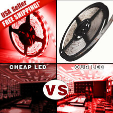 5M 300 LED Red Soft Strip Light Waterproof 3528 SMD String Ribbon Tape Roll IP67
