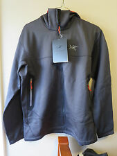 Mens New Arcteryx Arenite Jacket Hoody Size Small Color Carbon Copy