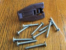 New listing 10 screws for Kenlin Rite-Trak stop, with Usps tracking #, no stop included