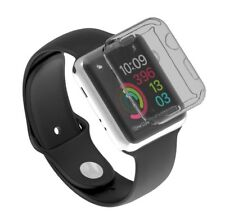 Coque housse protection Apple Watch Series 2 (38mm) case cover black transparent