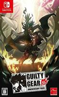 USED Nintendo Switch Guilty Gear 20th ANNIVERSARY PACK Japan import