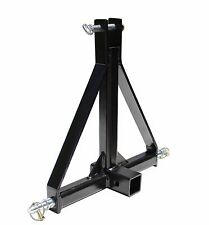 TITAN 3 Point 2 Tractor Drawbar Receiver Trailer Hitch - Category 1