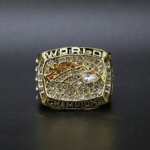 Terrell Davis -Denver Broncos 1997 Super Bowl Championship Ring with Box
