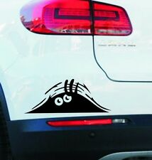 Dunes strange scratches devil eyes peeping door stickers cartoon car stickers