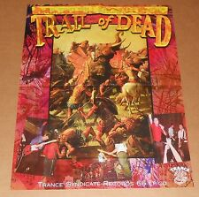 Trail of Dead…and you will know us by the Poster Original Promo 17x22