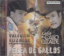 Valentin Elizalde Pelea De Gallos CD New Nuevo Sealed