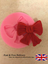 Bow Ribbon Silicone Mould Sugarcraft,  Cake flower, Fondant, Soap  UK