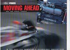 1992 FORD COSWORTH US 2 Page Brochure Sheet XB INDYCAR Racing Engine LOLA