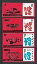 GRAN BRETAGNA 2012 Giochi Olimpici di Londra francobolli EX Smilers Foglio