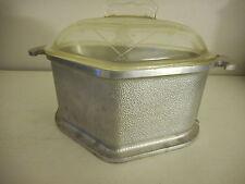 Vintage Guardian Service Ware Aluminum Stock Pot Triangle Roaster Glass Lid #2