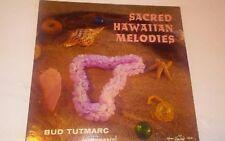 SACRED HAWAIIAN MELODIES BUD TUTMARC INSTRUMENTAL VINYL LP 1959 HOLD MY HAND