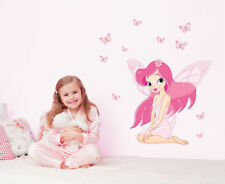 Princess Butterfly Large Nursery Wall Sticker Decoration Wall Art
