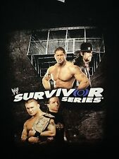 WWE Survivor Series 2007 T-Shirt L Large Undertaker Batista Hell in a cell WWF