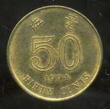 HONG KONG  50 cents 1994  ( bis )