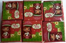 NEW Strawberry Shortcake Chocolate Egg Toy Surprise Box of 6 Free Shipping