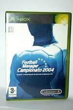 FOOTBALL MANAGER CAMPIONATO 2004 USATO XBOX EDIZIONE ITALIANA PAL GD1 38483