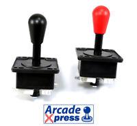 Joystick Arcade Americano American black red Arcade Game Cabinet Bartop 4/8 way