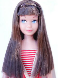 Amazing Vintage Brunette Straight Leg Skipper Doll MINT