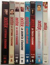DVD Dexter - Complete Series - Collection 8 Rectangle Seasons 1/8 - 35 Discs