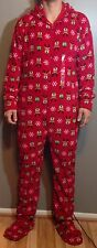 FAMILY PAJAMAS $70 NEW Hooded Jumpsuit Pajama Mens Sleepwear x-Large Romper