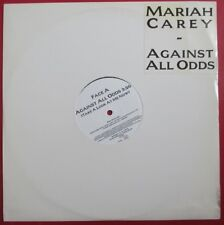 """MARIAH CAREY - FRANCE ONLY PROMO 12"""" SINGLE """"AGAINST ALL ODDS"""""""