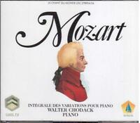 Mozart : Multigrains Des Variations Pour Piano / Walter Chodack - CD