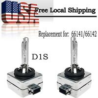 2X D1S HID Xenon Bulbs (5000K 6000K 8000K 10000K) For Headlight Replacement