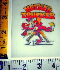 "VERY RARE Vintage Roach Mini ""MOTHER TRUCKER"" Iron-on Transfer"