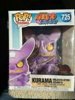 "Kurama with Susanoo Susano'o Naruto Shippuden 6"" Funko Pop Vinyl New in Box"