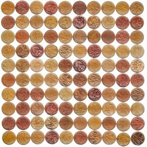 WHOLESALE COIN LOTS BY DENOMINATION. WORLD COUNTRIES. 90G., 100 COINS OR 1 POUND