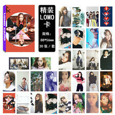 30pcs set Kpop FX Collective PhotoCard Picture Poster Lomo Cards