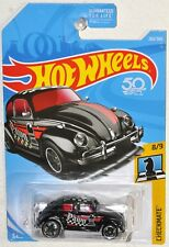 Hot Wheels 50th 2018 #262 Volkwagen Beetle Pawn MOC Checkmate #9 Mattel FJX62
