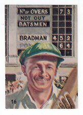 Sanitarium Weetbix- Australia, Yesterday & Today (1949) #16 Sir Donald Bradman