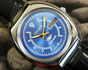 CITIZEN AUTOMATIC CAL.8200 MEN'S JAPAN REFURBISHED USED OLD VINTAGE WATCH 500708