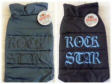 Urban Living Pet Clothes Dog Rock Star Body Warmer Coat Padded Jacket