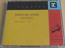 Depeche Mode One Caress Promo CD Rare PRO-CD-6626 Songs Of Fatih And Devotion