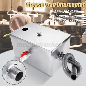 Commercial Grease Trap Waste Interceptor Stainless Steel Restaurant Takeaway UK