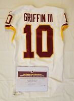 #10 Robert Griffin of Redskins NFL Game Worn & Unwashed Jersey vs Colts WCOA