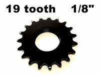 """19T FIXED GEAR COG 19 TOOTH 1/8"""" FIXIE TRACK CroMo"""