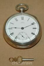 Waltham Open Face Antique Pocket Watches with Roman Numerals